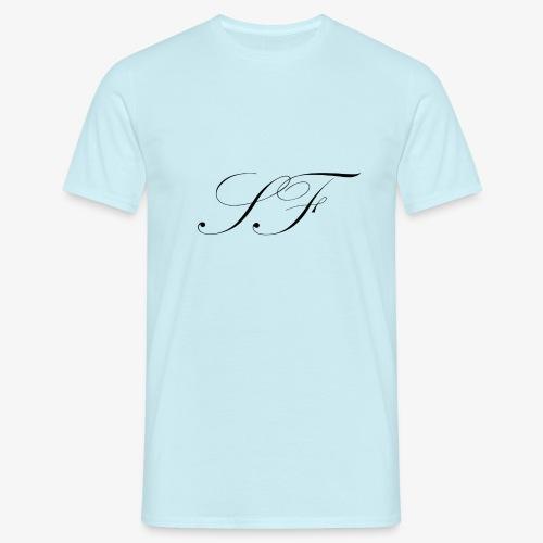 SF HANDWRITTEN LOGO BLACK - Men's T-Shirt
