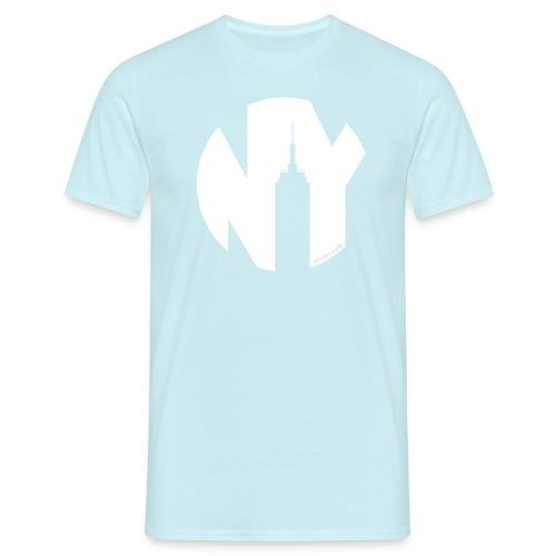 Logo French Yorker blanc - T-shirt Homme
