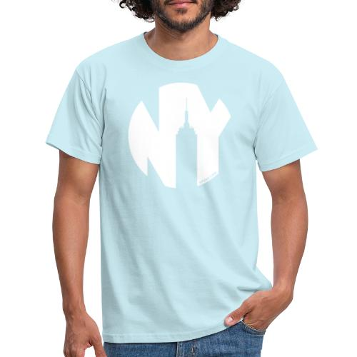 Logo French Yorker blanc - T-shirt Homme