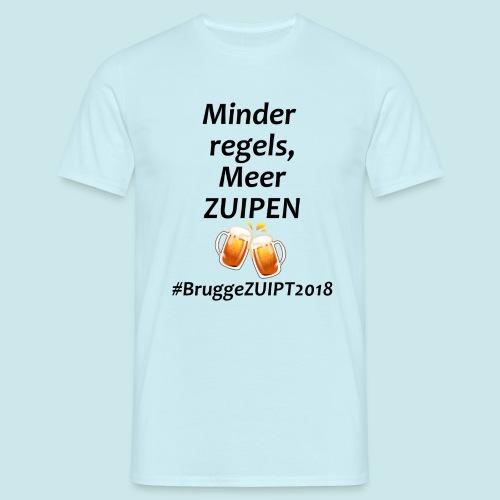 Brugge ZUIPT - Mannen T-shirt