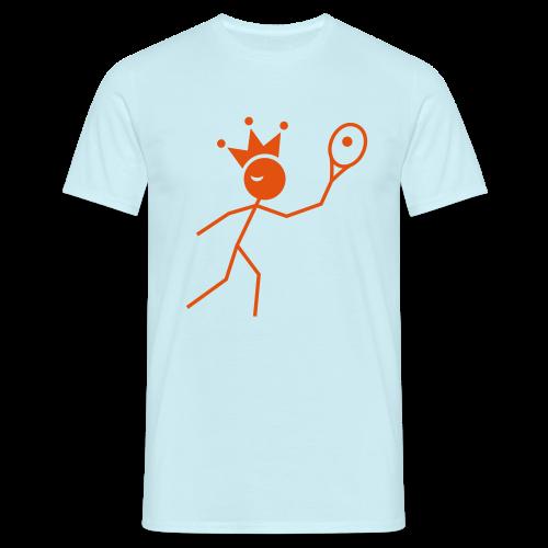 Tenniskoning - Mannen T-shirt