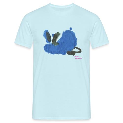 Fauler Hase Designed by Kids - Männer T-Shirt