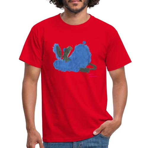 Fauler Hase Designed by Kids - Männer T-Shirt