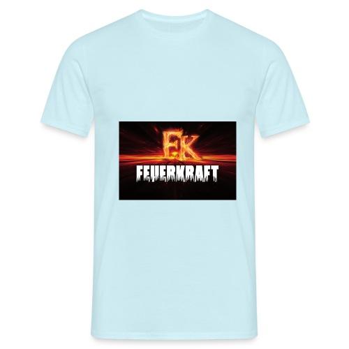FK Flammen Schriftzug - Männer T-Shirt