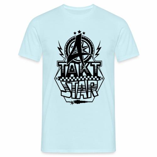 4-Takt-Star / Viertakt-Star - Men's T-Shirt