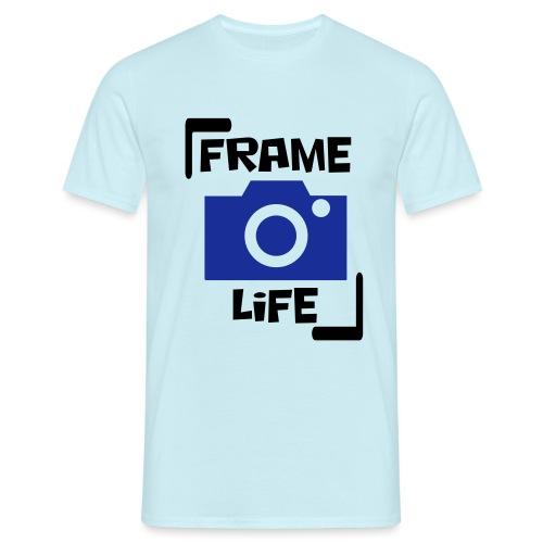 Frame your life - Mannen T-shirt