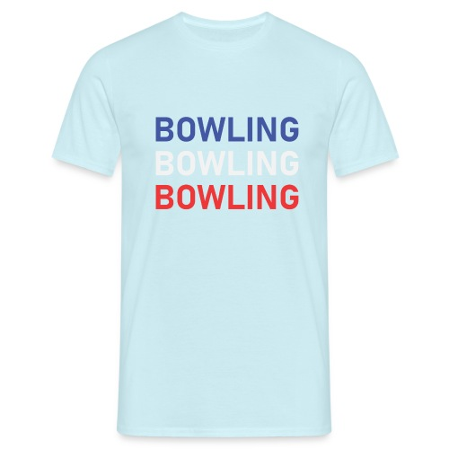 Bowling Bleu Blanc Rouge - T-shirt Homme