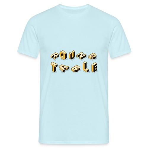 round table 2019 liegend - Männer T-Shirt
