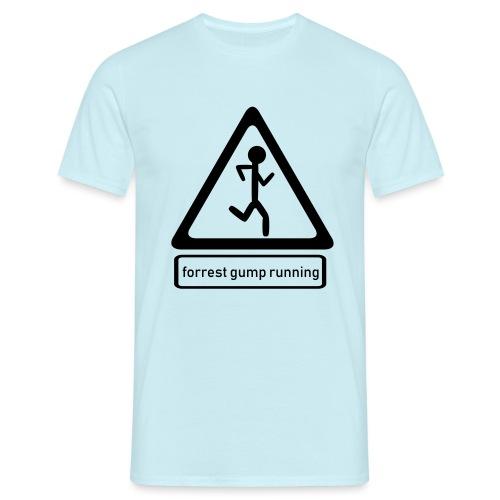 Forrest Gump running - T-shirt Homme