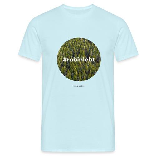 #robinlebt Wald 2 - Männer T-Shirt