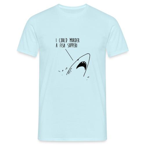 shark1 png - Men's T-Shirt