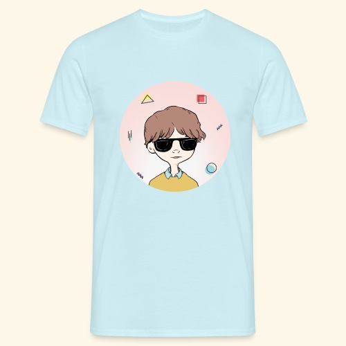 Boy with RayBan 90's Version - T-shirt Homme