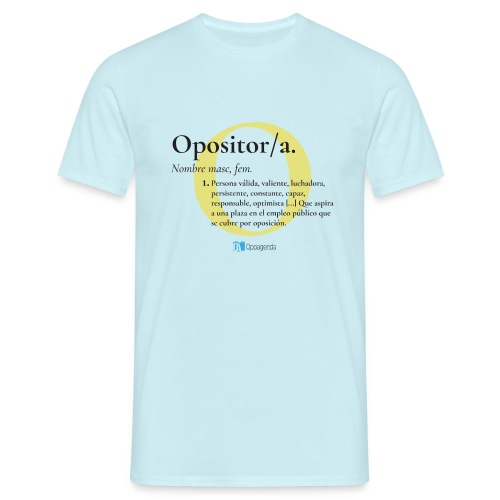 Definición de Opositor/a - Camiseta hombre