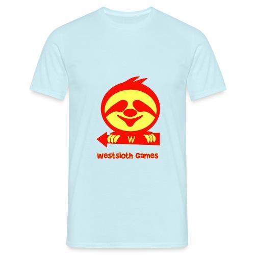 WestSloth Games Logo - Miesten t-paita