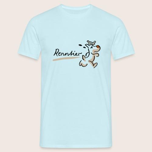 Runtasia Renntier - Männer T-Shirt