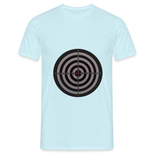 bullseye - Mannen T-shirt