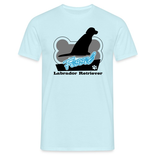 Fessel Labrador Retriever - Männer T-Shirt