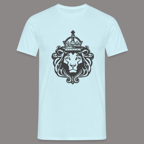 lion hollow 2 png - Men's T-Shirt