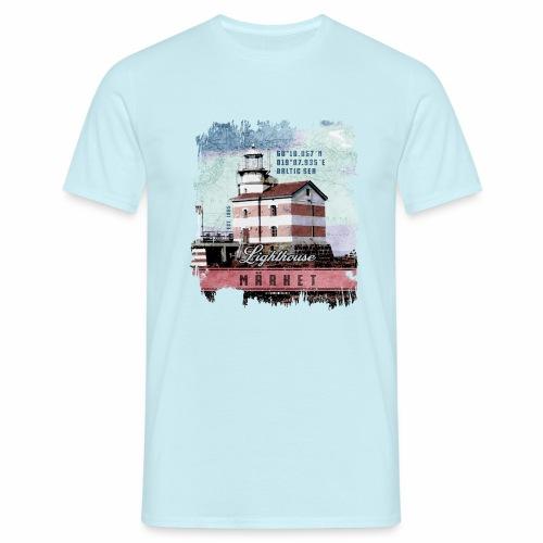 Märket majakkatuotteet, Finland Lighthouse, väri - Miesten t-paita