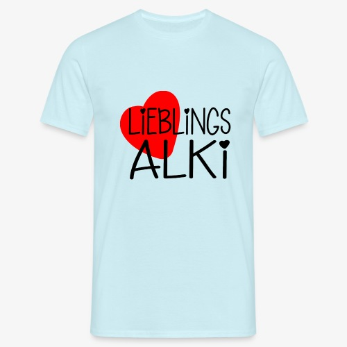 Lieblings-Alki Geschenkidee Valentinstag - Männer T-Shirt