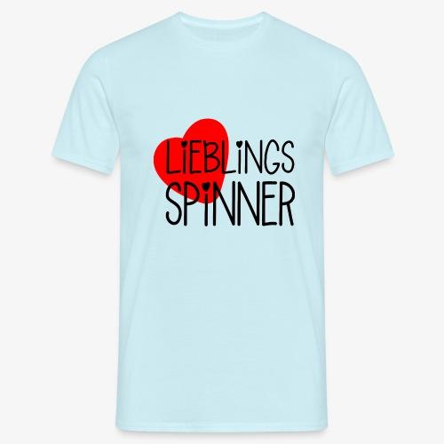 Lieblings-Spinner Geschenkidee Valentinstag - Männer T-Shirt