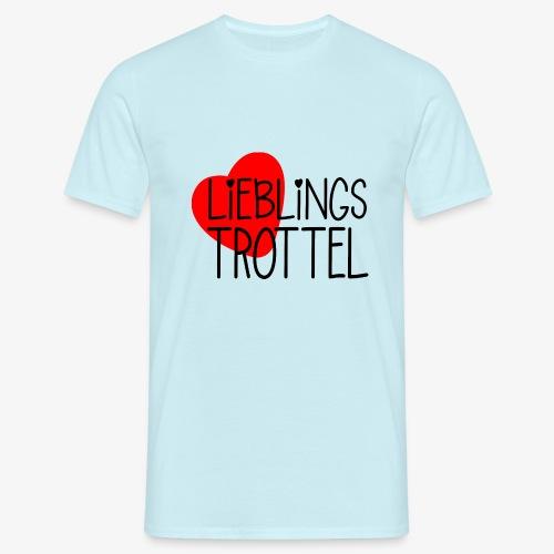 Lieblings-Trottel Geschenkidee Valentinstag - Männer T-Shirt