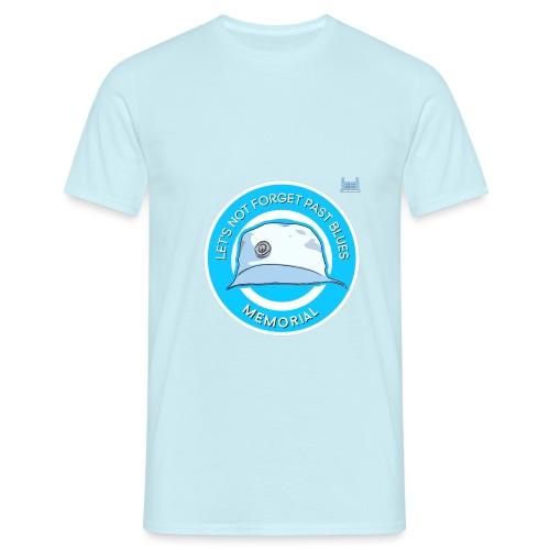 Let's Not Forget Past Blue's - Men's T-Shirt