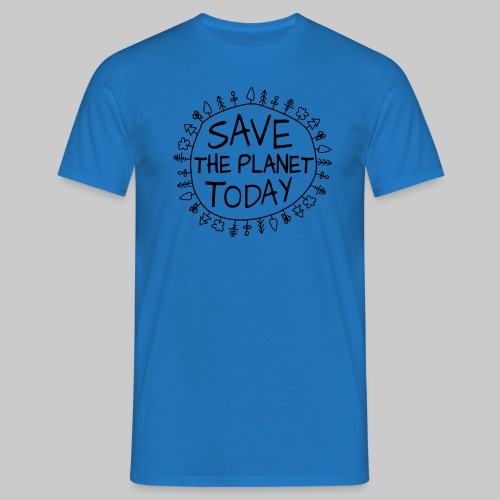 Safe the Planet - Männer T-Shirt