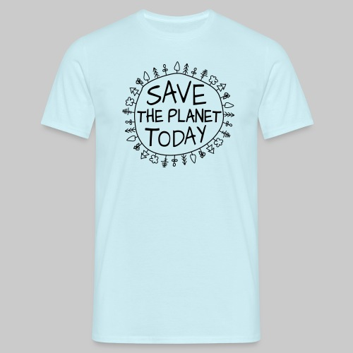 Safe the Planet - Männer T-Shirt