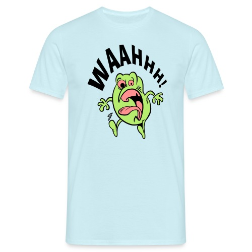 schrik momentje - Mannen T-shirt