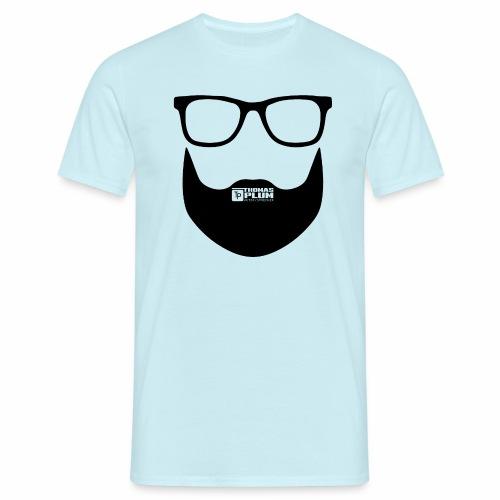 Plum Bart Schwarz - Männer T-Shirt