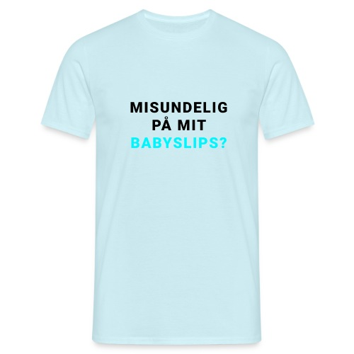 Babyslips - Herre-T-shirt