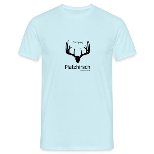 Campingplatzhirsch - Männer T-Shirt