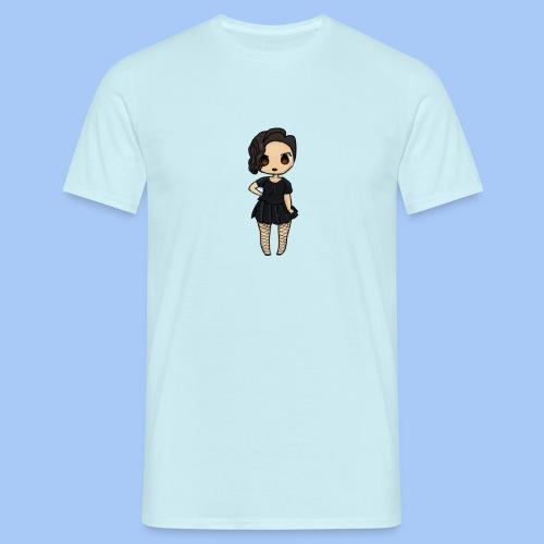 gotic waifu - Camiseta hombre
