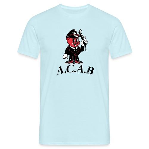 A.C.A.B cochon - T-shirt Homme