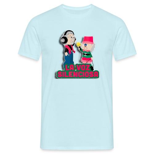 La voz silenciosa - Jose y Arpelio - Camiseta hombre