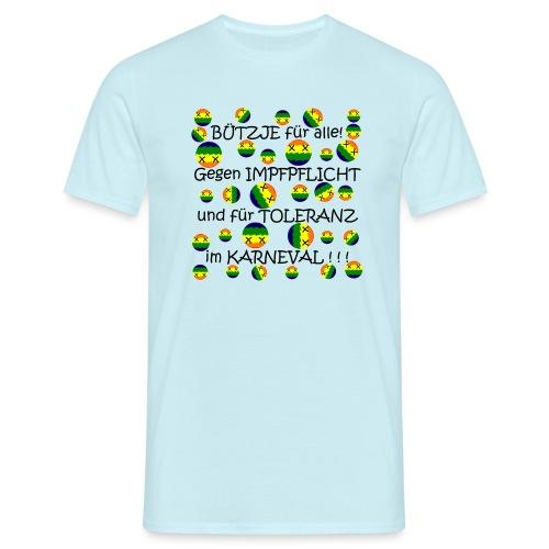 Toleranter Karneval 21.1 - Männer T-Shirt