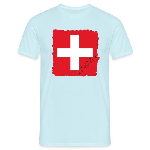 Schweiz 21.1 - Männer T-Shirt