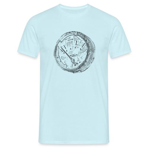 Vintage Manometer - Männer T-Shirt