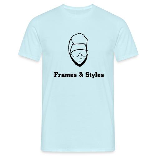 Frames and Styles frameface - Männer T-Shirt