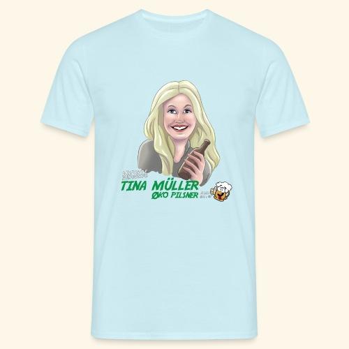Tina øko pilsner - Herre-T-shirt