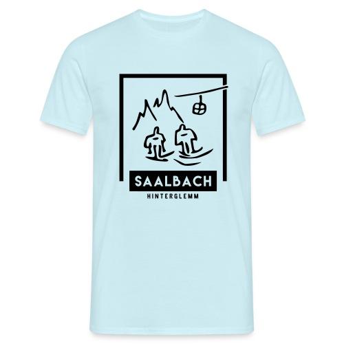 Skido's Saalbach - Mannen T-shirt