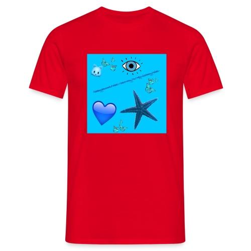 lubie czerwony - Koszulka męska