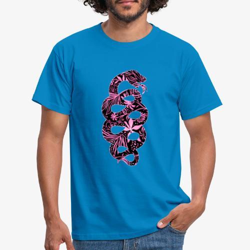 Flower Snake IV - Miesten t-paita