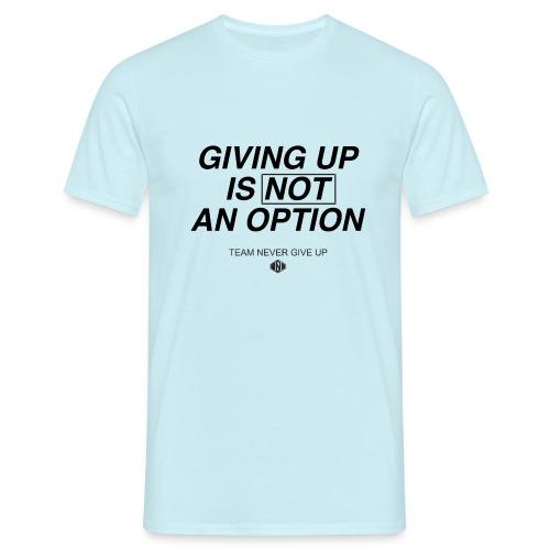 NO OPTION - Männer T-Shirt