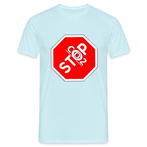 Stop Co2! - Männer T-Shirt