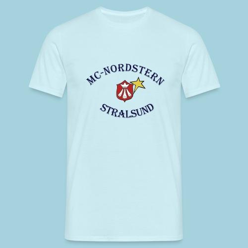 MC Nordstern Schrift gebogen - Männer T-Shirt