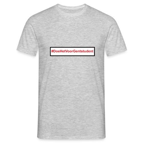 #DoeHetVoorGentstudent - Mannen T-shirt