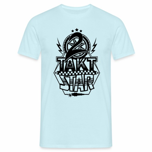 2-Takt-Star / Zweitakt-Star - Men's T-Shirt