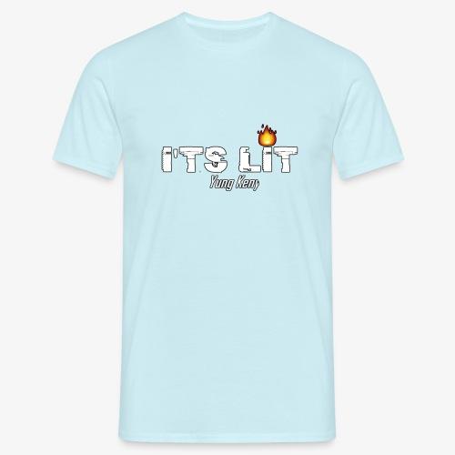 It's Lit - T-skjorte for menn